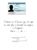 lettre d attestation sur l4honneur